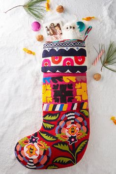 Anthropologie Verdure Stocking
