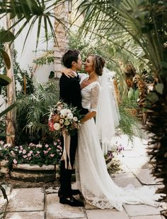 Boho Chic Palm Springs Wedding