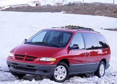 Dodge Grand Caravan With Generation III, the Chrysler minivans were available in long- and short- wheelbase models; Station Wagon, Chrysler Grand Caravan, Plymouth, Chrysler Voyager, Dodge Van, Minivan, Car Advertising, Dodge Trucks, Mopar