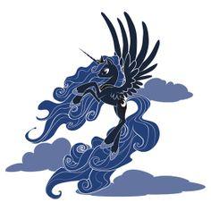 Dark Princess Luna - MLP Sticker