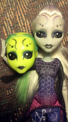 Luna Mars and Ms. Gray   by Black♥Kat