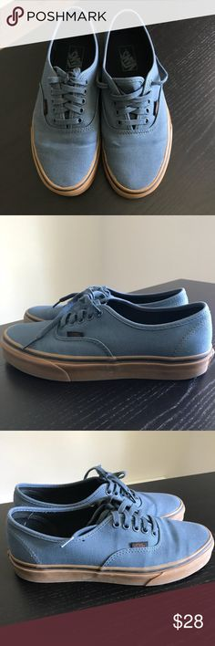 0297cd9fadda VANS AUTHENTIC (GUM) DARK SLATE BLACK 7.5M 9W Vans Shoes
