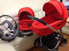 Stokke Crusi/ Trailz i barnvagn Baby Car Seats, Baby Strollers, Future Children, Shopping, Bebe, Baby Prams, Prams, Strollers