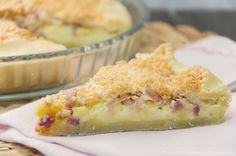 Crostata salata al prosciutto e formaggio