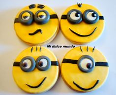 Galletas decoradas con fondant! https://www.facebook.com/misdulcesgalletas