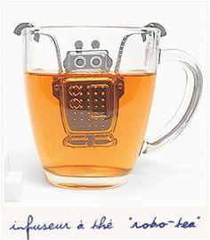 Robo-tea! Stainless steel tea infuser