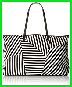 L.A.M.B. Idelia Tote Bag, Black/White, One Size - Totes (*Amazon Partner-Link)