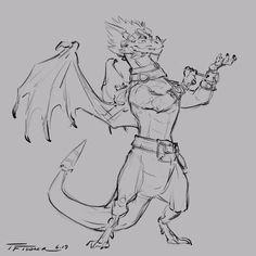 Anthro Dragon, Spyro The Dragon, Character Development, Freelance Illustrator, Character Design, Sketches, Creatures, Artwork, Mysterious
