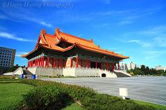 National Music Hall and the National Drama Hall, Chang Kai-Shek Memorial Hall, Taipei, Taiwan