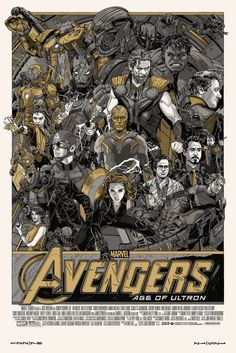 Avengers - Age of Ultron - Tyler Stout ----