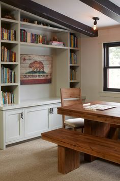 Built-in! - rustic family room by Artistic Designs for Living, Tineke Triggs