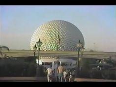 Vintage (1986) Epcot Center & Disney World's Magic Kingdom