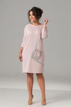 Платье женское прямого силуэта - в интернет-магазине Модная мода