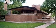 Located on the University of Chicago campus, Frank Lloyd Wright's Robie House is considered one of the most important buildings in American architecture.