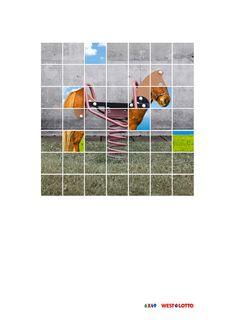 Westdeutsche Lotterie: Horse  6x49 West Lotto  Advertising Agency: BBDO, Düsseldorf, Germany