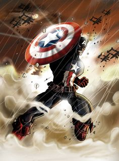 WW II Captain America