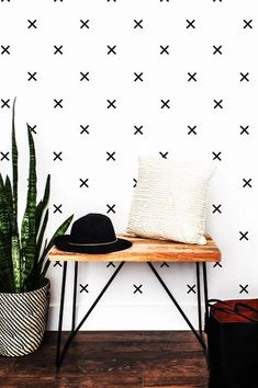 Washi Tape Wall, Tape Wall Art, Masking Tape, Scandinavian Wall Stickers, Wall Crosses, Geometric Wall, Vinyl Wall Decals, Modern Wall Decals, Bedroom Wall Decals