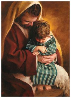 St Joseph and the child Jesus . God and Jesus Christ Pictures Of Christ, Religious Pictures, Religious Art, Lds Pictures, Temple Pictures, Arte Lds, Immaculée Conception, Jesus E Maria, Lds Art
