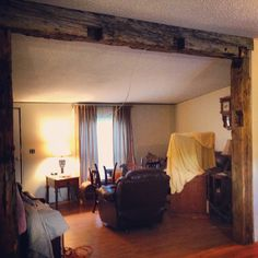 Love the beam! Antique Items, Beams, Rustic, Decorating, Future, Home Decor, Country Primitive, Decor, Decoration