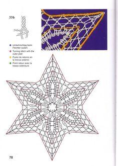"Курсы кружевоплетения на коклюшках. Новосибирск. — Книга ""Рождественские мотивы""   OK.RU Bobbin Lace Patterns, Lacemaking, Lace Heart, Point Lace, Lace Jewelry, Needle Lace, All Craft, Lace Detail, Free Pattern"