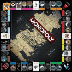 game of thrones monopoly etsy