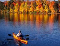Places to go: Kayaking in Lake Nockamixon, PA