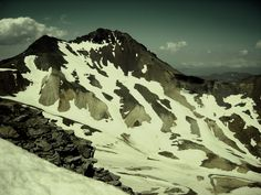 Mount Aragats in Armenia, one of the highest mountains.