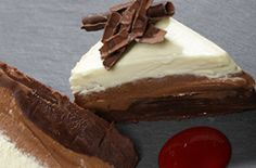 Gourmet Food Catering Food Company, Gourmet Recipes, Catering, Cheesecake, Pudding, Desserts, Blue, Catering Business, Cheesecakes
