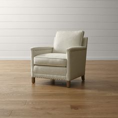 Trevor Chair Gibson: Oatmeal | Crate and Barrel