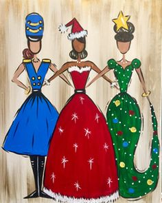 All the Holiday Ladies