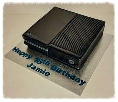 Xbox One cake www.facebook.com/icedmagiccreations