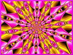 Webshots, the best in Wallpaper, Desktop Backgrounds, and Screen Savers since Fractal Art, Fractals, Whimsical Art, Repeating Patterns, Natural World, Mind Blown, Pink Yellow, Rainbow Colors, Illusions