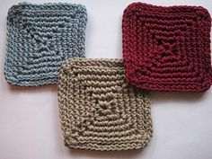 Crochet Spot » Blog Archive » Crochet Pattern: Cool Coasters 3 - Crochet Patterns, Tutorials and News
