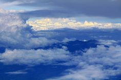 An eagle's view of Mount Talinis, in Negros Oriental, Central Philippines.