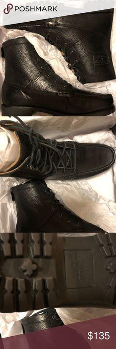 a8e87e7a566 Shop Men s Ralph Lauren Black size 12 Boots at a discounted price at  Poshmark.