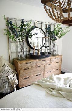 dekoracje do sypialni, stylowa sypialnia, pościel podus… na Stylowi.pl