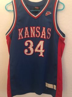 9df16504a Paul Pierce Kansas Jayhawks Jersey. Aatabat Ninguane · basketball jerseys