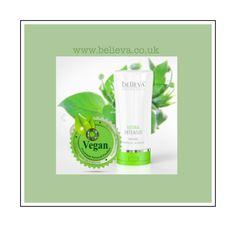 Our shower gel is vegan friendly www.believa.co.uk
