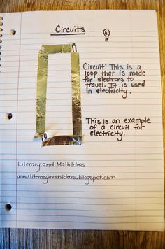 Literacy & Math Ideas: STEM in the Classroom: Circuits