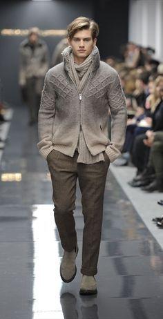 Ermanno Scervino, eleganza disinvolta Collezioni Inverno 2011/2012 - Magazine Uomo | Abbigliamento.it