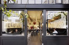 Jane, a modern coffee-café in the Pacific Heights neighborhood of San Francisco.