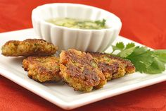 Cucumber Dipping Sauce - A Thai Dipping Sauce traditionally served along side Tod Mun Pla (Thai Fish Cakes). Also good with fried, steamed or boiled dumplings.  Get this recipe by clicking on the link below: http://ow.ly/rbGq301pfSn