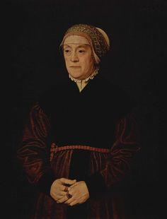 Porträt einer älteren Dame, Nicolas Neufchâtel , 1562