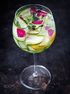 Cucumber cocktail by Daniel Horvath on 500px