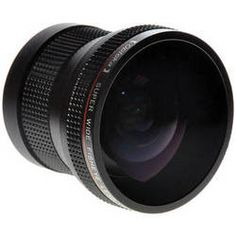 Opteka 52mm 0.2x HD Professional Super AF Fisheye Converter Lens