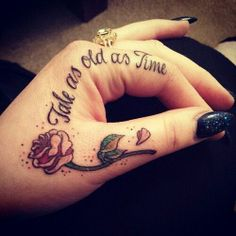 Love this! Except I want it behind my ear!