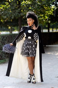 Slaying Paris - Janelle's Hair (ig: @the_monae)