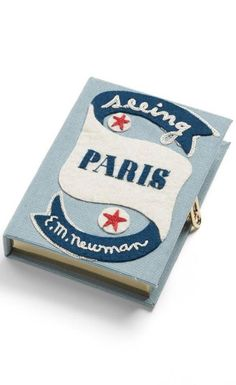 """""""Seeing Paris"""" Clutch by Olympia Le-Tan"""