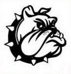 Bulldog Graphic. School Spiritwear Shirts and Apparel. http://spiritwearshirts.com/ #bulldog #schoolspiritwear