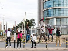 The one thing I do that nobody else does is jump three and four times for one rebound. . . . #jumpie #nairobi #kenya